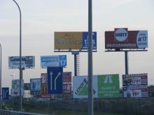 Vallas publicitarias N-IV (Madrid)