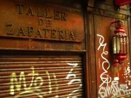 Taller reparación calzado clausurado (Madrid)
