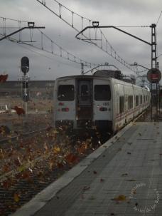 El paso del tren y del tiempo