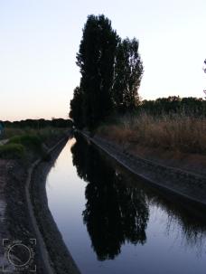 Canales riego río Duero Tordesillas