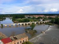 Río Pisuerga a su paso por Simancas