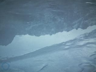 Circo Gredos reflejado en el hielo