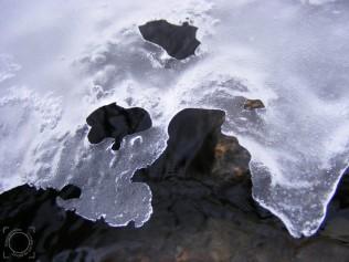 Arroyo bajo el hielo, Cotos