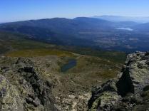 Laguna de los Pájaros y Embalses de Pinilla y Riosequillo al fondo