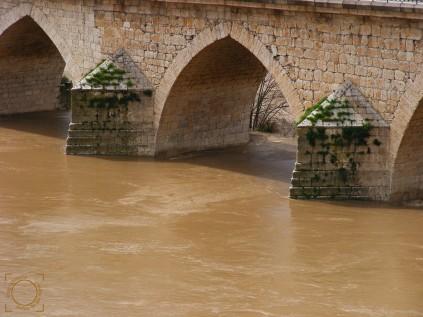 Crecida Río Duero Tordesillas mar2013.